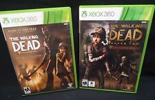 The Walking Dead Season 1 and 2 Xbox 360