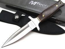 """MTECH Pakkawood 9"""" Straight Full Tang DAGGER BOOT Knife + Sheath MT2003 New!"""
