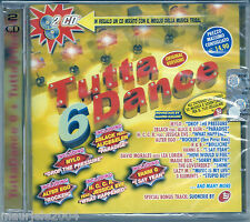 Tutta Dance 6 TuttaTribal *1 (2005) 2CD NUOVO Mylo Drop the pressure. Andrè Ravì