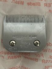 OSTER Steel Pet A5 Clipper Blade: No. 80 Model GY Size 10 / Farm - Groomer