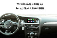 Wireless Apple Carplay Interface Module Android auto For AUDI A4 B8 Non MMI 3G