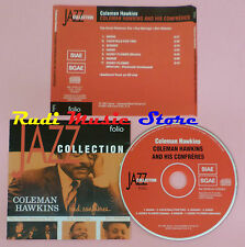 CD COLEMAN HAWKINS And his confreres 2001 PROMO JAZZ COLLECTION lp mc dvd vhs