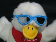AFLAC SCREAMING ADORABLE DUCK VISION NOW BLUE SUNGLASSES PLUSH STUFFED ANIMAL
