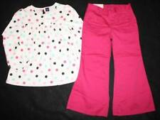 NWT Baby Gap Chelsea Dot Shirt Top Pant 4 4T 5T 5 Yrs