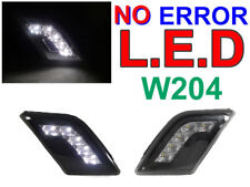 DEPO NO ERROR White LED Smoke Bumper Side Marker Light For 08-11 W204 C Class