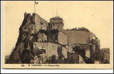 Lourdes France Frankreich CPA ca. 1920 Le Chateau Fort Burg Umgebung ungelaufen