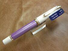 Pelikan M600 Violet White  2019 Special Edition Fountain Pen 14K Fine Nib