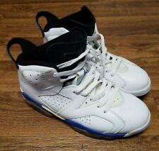 👟AIR JORDAN Retro VI 6 2014 Sport Blue 384664-107 Sneakers Shoes Men's Size 9.5