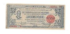 Philippines Emergency Guerrilla Two Pesos Negros #180291 Cterstped Mountain Pro