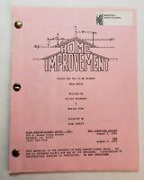 "HOME IMPROVEMENT / Elliot Shoenman 1993 TV Script, ""Aisle See You in My Dreams"""