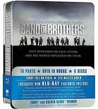 BAND OF BROTHERS cofanetto TIN BOX 6 bluray EDIZIONE INGLESE NO ITA