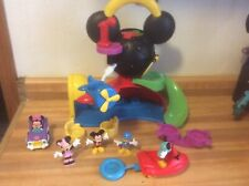 New listing Fisher Price Disney Mickey Mouse Fly 'n Slide Clubhouse & Accessories