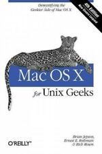 Mac OS X for Unix Geeks, Paperback by Jepson, Brian; Rothman, Ernest E.; Rose...