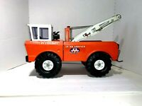 "Vintage 1970's  'Mighty Tonka AA Wrecker Truck- 24 HR. Service""  Pressed Steel"