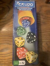 NEW SEALED PERUDO The Classic Game Of Liar Dice Tin 2002