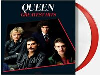 QUEEN GREATEST HITS 2X VINYL NEW! EXCLUSIVE LIMITED EDITION RED & WHITE LP