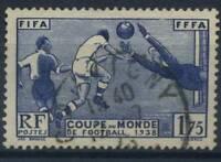 Frankreich 1938 Yv. 396 Gestempelt 100% Fussball Sport