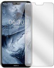 5x Schutzfolie für Nokia X6 2018 TA1099 Display Folie klar Displayschutzfolie