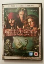 Pirates Of The Caribbean Dead Man's Chest - 2 Discs - R2 - Ex Cond DVDs - Tested