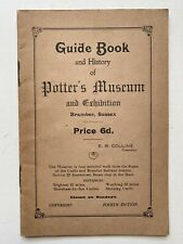 More details for sweet vintage guide book and history potter's museum exhibition bramber sussex