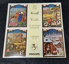Vivaldi Record: Le Quattro Stagioni, Phillips Deccab I Musici, Felix Ayo, Import