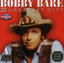 Bobby Bare - 20 Greatest Hits [New CD]