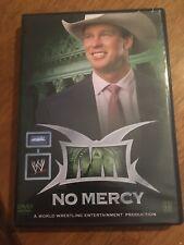 WWE NO MERCY 2004 04 DVD RARE WRESTLING WWF Free Shipping