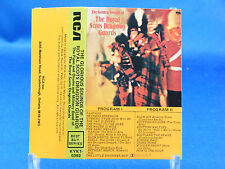 THE GLORIOUS SOUNDS OF THE ROYAL SCOTS DRAGOON GUARDS - Cassette VG++