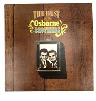 THE BEST OF THE OSBORNE BROTHERS   LP 2-RECORD SET MCA2-4086