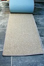 215 x 16  inches  (546 x 40cm) beige fleck colour carpet runner RUG / mat,  1718