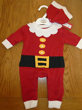 BNWT baby girl/boy Father Christmas /santa fancy dress up outfit. NEWBORN