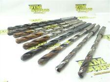 "New listing Lot Of 9 Freshly Sharpened Hss 2Mt Drills 33/64"" Dia Trw Ptd"
