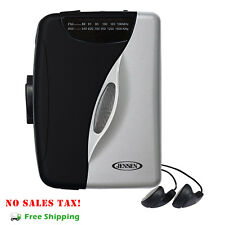 Stereo Cassette Player w/ Am/Fm Portable Radio Walkman Earbuds Tape Music New