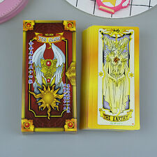 Anime Cardcaptor Sakura Clow Cards Cosplay Fortune Tarot Card Captor Full Set 56
