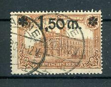 Dt. Reich: Mi.Nr.117 PF I gestempelt, Befund Tworek BPP. Mi: 380,-