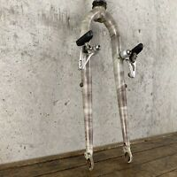 "Diamond Back Apex Vintage MTB Fork 26"" Splatter Straight Blade Mid Fork Mounts"