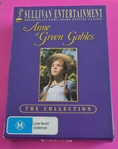ANNE OF GREEN GABLES Collection Complete Mini Series 3 x DVD Set