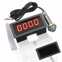 Digital red LED Tachometer RPM Speed Meter + NPN Hall Switch Sensor Kit