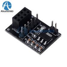 Socket Adapter plate Board for 8Pin NRF24L01+ Wireless Transceive module 51