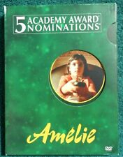 Amelie - Like New Dvd Directed by Jean-Pierre Jeunet 2001 Special Features +more