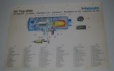 Technische Information Air Top 2000 Webasto Schaltplan Automatik Schaltung!