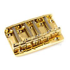 Gotoh 203B-4 Bass Bridge 4-Strings Precision Jazz for Fender P Jazz Bass - GOLD