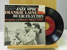 Frankie Laine Buck Clayton 45 EP ps Jazz Spec - Columbia VG+