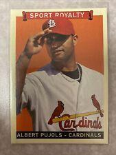 2008 Upper Deck Goudey Sport Royalty Albert Pujols #272 - Cardinals / Dodgers