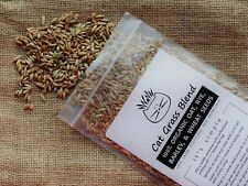 Cat Grass Blend | Totally Organic Combo Mix Of Seeds From a Trusted U.S. Source
