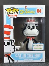 Funko Pop Dr. Seuss Cat In The Hat #04 Flocked - Barnes and Noble Exclusive