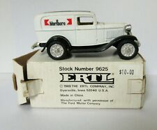 Ertl 1:43 1932 Marlboro Panel Delivery Truck Bank #9625