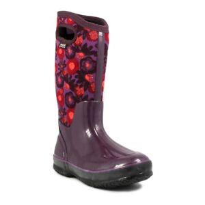 Bogs Women's 71787 Classic Watercolor Waterproof Insulate Snow Winter Gum Boots
