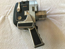 Bell & Howell Duo-Speed Zoomatic Optronic Eye Movie Camera With Leather Case