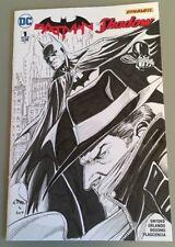 DYNAMITE DC Comics BATMAN SHADOW #1 Original Art Sketch Cvr Ethan Van Sciver NM Comic Art